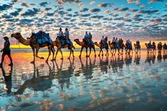 Cable beach - Broome - Western Australia I would love to go to Broome again with George and stay til I die. but I cannot do it because George needs to have easy excess to being near Kathi in his old age after I am gone.