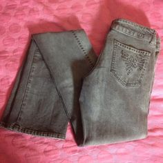 "Stella McCartney Jeans Barely used Stella McCartney jeans no holes no stains at all. Made in Italy measurements are: waist 30"" rise 8"" inseam 37"" these jeans were very expensive so please no low ball offers Stella McCartney Jeans Straight Leg"