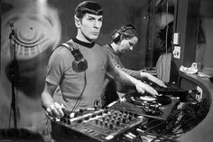 DJ Spock Star Trek