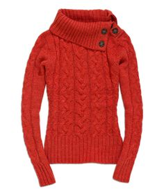 Cable-Knit Turtleneck Top @Pascale Lemay Lemay De Groof