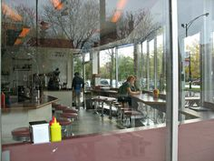Johnny's Grill diner vintage restaurant Logan by helenesmith