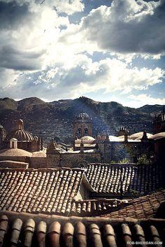 les toits de Cuzco