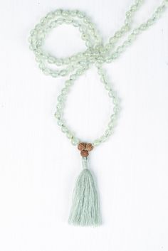 """To be enlightened is """"to remove the dimness or blindness from one's eyes or heart."""" It's not a state. It's the continual journey that I'm on. #malabeads #meditation #japamala"""
