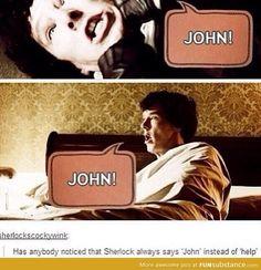 he needs john