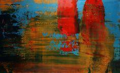 """Koen Lybaert; Oil, 2013, Painting """"abstract N° 588"""""""