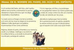 MISIONEROS DE LA PALABRA DIVINA: HIMNO LAUDES - EN EL NOMBRE DEL PADRE, DEL HIJO Y ...