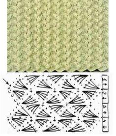 zimní vzor 2  crochet pattern