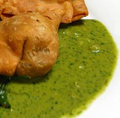 Indian Cilantro Sauce---I put this on everything!