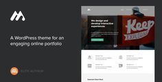 Meth - A Minimal One Page Portfolio Theme by Codestag Meth is a flexible and simple to use portfolio theme for WordPress, with pixel perfect design and solid code. Use it as a standard
