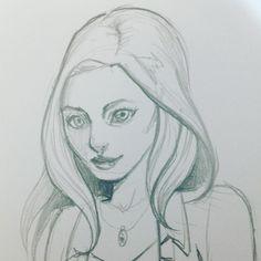 #sketchin #pencil #sketch #comic #woman #fashion
