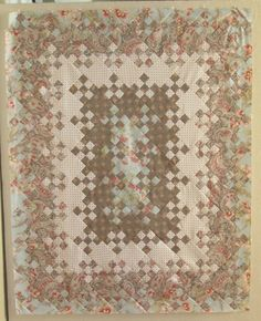 BLOOMING NINE PATCH QUILT..............PC  ...........blooming 9 patch quilt - Google Search