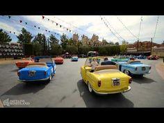 Luigi's Rollickin' Roadsters dance into Cars Land — FULL RIDE - YouTube