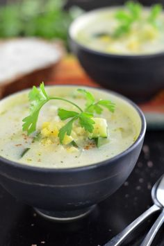 Mexican Zucchini Soup - Coffee & Quinoa
