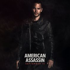 """New Project - Movie """"American Assassin"""" Future release (09/2017) - Director:  Michael Cuesta . Taylor Kitsch as Ghost. (pôster)"""