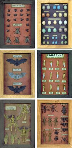 all1 DIY Halloween Shadow Boxes