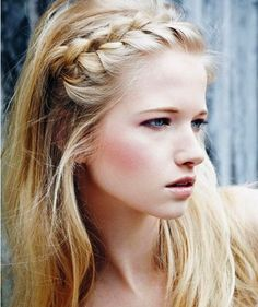 Braided Bangs Hairstyles for Long Hair