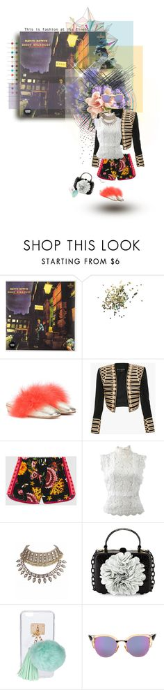 """The Rise And Fall Of Ziggy Stardust And The Spiders From Mars"" by sophielovesblue ❤ liked on Polyvore featuring Paul Smith, Topshop, Alexander McQueen, Balmain, Gucci, Oscar de la Renta, Nancy Gonzalez, Ashlyn'd and Fendi"