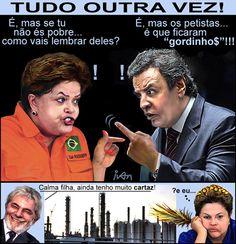TUDO OUTRA VEZ! (ATUALIZANDO) | Humor Político