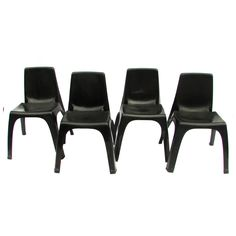 Kartel Stacking Chairs by Castiglioni, Up to 10