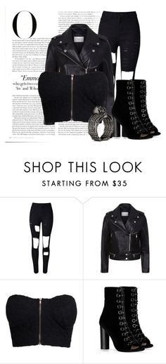 """""""Untitled #148"""" by ashtasia on Polyvore featuring WithChic, Sandro, NLY Trend, Barbara Bui and Vanity Fair"""