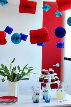 DIY garland. So festive!