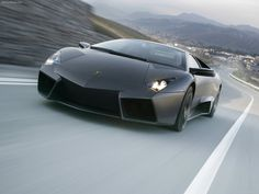 I love the way lamborghinis are designed. The way that they combine sharp corners with elegant curves.