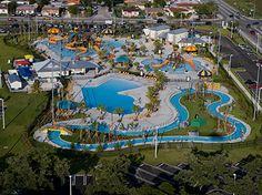 Grapeland water park y otros de Miami dade