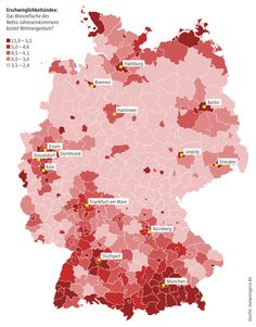 Grafik der Woche: Was Wohnen kostet - 21.05.14 - BÖRSE ONLINE