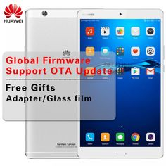 Global ROM Huawei MediaPad M3 8.4 inch 2K Screen Tablet PC 4GB RAM LTE/WiFi Kirin 950 Octa Core Anroid6.0 Metal Frame Dual 8.0MP  Price: 322.00 & FREE Shipping  #tech|#electronics|#home|#gadgets Emergency Call, Glass Film, 4gb Ram, Sd Card, Wifi, Core, Messages, Frame, Electronics Gadgets