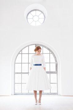 (100+) tea length wedding dress | Tumblr
