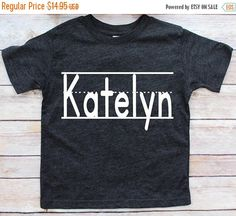 Back to school shirt, this can be for kindergarten, preschool or any grade level. Super comfy tee. Get this shirt personalized with your little ones name.   https://www.etsy.com/listing/527866486/sale-back-to-school-shirts-school-shirts