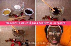 Poderosa mascarilla de café para reafirmar el rostro y remover las ojeras
