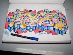 Bilderesultat for graffiti alphabet wildstyle