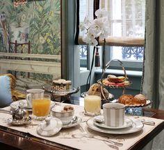 Petit-déjeuner de l'Hôtel daniel