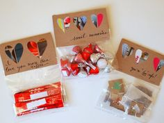 DIY Valentine's Day Gifts:  Candy, Coffee, and Tea