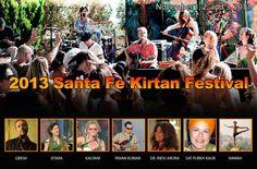 Santa Fe, NM A weekend of Kirtan, Sacred Medicine, Poetry & Yoga featuring Girish, HawaH, Indu, Sat Purkh Kaur and introducing Sitara & Kalyani with Pavan Kumar.  Santa Fe Kirtan Fest is about bri… Click flyer for more >>