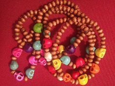 Candy Skull Stretch Bracelets