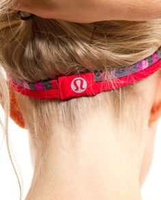 love lululemon headbands!  Thanks @Lauren West