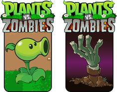 Plants vs Zombies cake inspiration