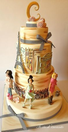 Fashion in Paris - For all your cake decorating supplies, please visit craftcompany.co.uk