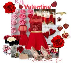 """Be My Valentine"" by samantha-edlin on Polyvore"