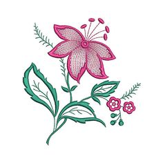 Flower Machine Embroidery Design Flower от EmbroideryByLada