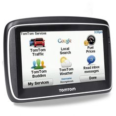 TomTom Go Touchscreen Portable GPS Navigation System USA Canada Maps #TomTom
