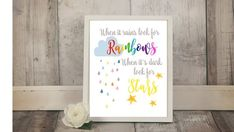Check out this item in my Etsy shop https://www.etsy.com/ca/listing/613761921/rainbow-nursery-decor-rainbow-baby-print