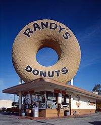 Dunkin', Krispy Kreme, Voodoo, Tim Horton's - no donut, and I mean NO donut in the WORLD can compare to Randy's honey glazed indulgence.  And trust me, I've looked.  Randy's is pure crack and melts in your mouth.  Located just minutes from LAX off the 405, it's the best 70¢ you can spend in El Lay.  (And if you're lucky, Iron Man might be hang'in in the hole!)