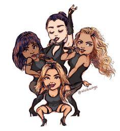 Fifth Harmony fan art