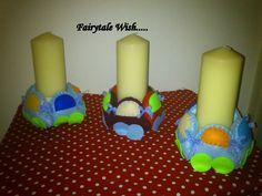 vaptism table decoration...