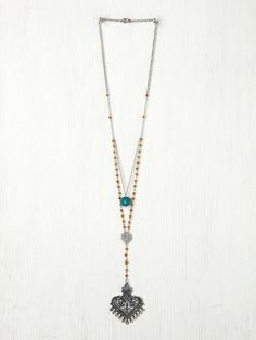 Free People Double Layer Rosary, 38.00
