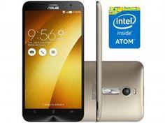 "Smartphone Asus ZenFone 2 16GB Dual Chip 4G - Câm. 13MP + Selfie 5MP Tela 5.5"" Intel Quad Core"