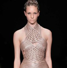 Fantastical Frozen Fashion : Iris van Herpen SS10-11